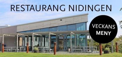 Restaurang Nidingen, veckans meny.