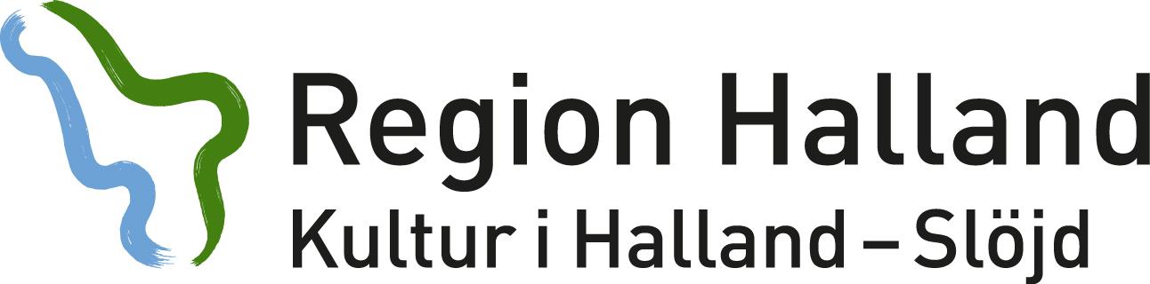 Kultur i Halland - Slöjd - logotyp i färg