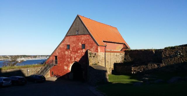 Varbergs fästning.