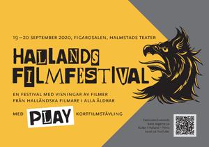 Omslagsbild till programmet för Hallands filmfestival 2020.