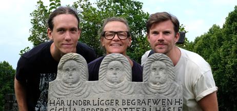 Johan Lundberg, Anna Westberg och Alexander Rynéus.