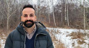 Porträttbild på Ilias Papoulias